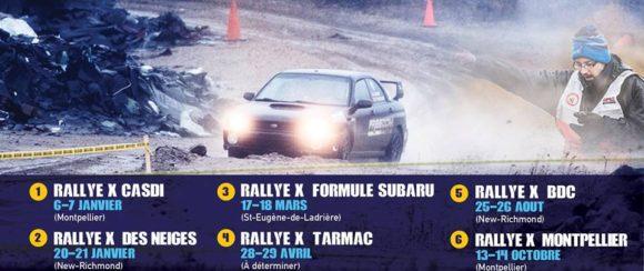 Rallye x 2018